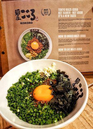Foto 2 - Makanan(Tokyo Maze-Soba) di Kokoro Tokyo Mazesoba oleh Ellen @MakanDoangg