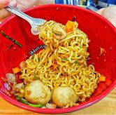 Foto Indomie sambal matah di Roti Bakar Manahan