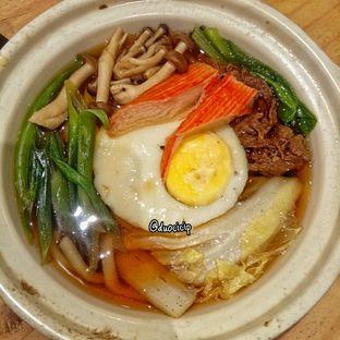 Foto 5 - Makanan(Spicy Nabeyaki Udon) di J Sushi oleh felita [@duocicip]