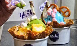 Glasch Nitrogen Ice Cream
