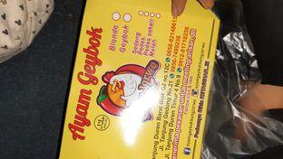 Foto review Ayam Geybok Bang Jarwo oleh Afifah Aulia 2