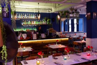 Foto 16 - Interior di Bleu Alley Brasserie oleh yudistira ishak abrar
