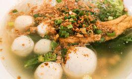 Ahan Bakso Ikan Telur Asin