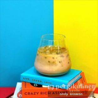 Foto 3 - Makanan(Iced Pandan Latte) di La Vie Kitchen and Coffee oleh Andy Irawan