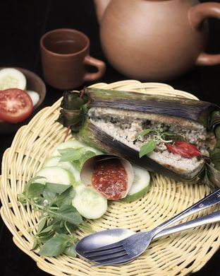 Foto - Makanan di B'elly Nasi Bakar oleh Anca  Syah