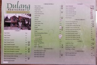 Foto 1 - Menu di Dulang Restaurant oleh Marsha Sehan