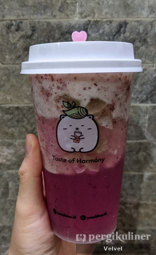 Foto - Makanan(Grape Fruit Tea) di Yuzuki Tea oleh Velvel