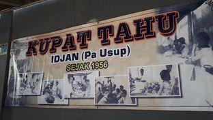 Foto 4 - Menu di Kupat Tahu Idjan (Pa Usup) oleh Susy Tanuwidjaya