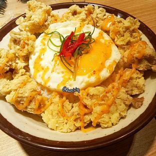 Foto 3 - Makanan(Tori Tamago Teppan) di Gyu Jin Teppan oleh duocicip