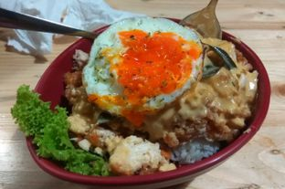 Foto 3 - Makanan(Chickpureku Salted Egg (IDR 37k) ) di Gepureku oleh Renodaneswara @caesarinodswr