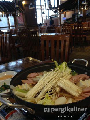 Foto 2 - Makanan(Buddae Jiggae) di Chung Gi Wa oleh zizi