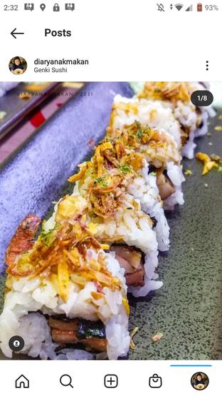 Foto review Genki Sushi oleh Nicole || @diaryanakmakan 2