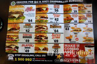 Foto 1 - Menu(menu di carls jr) di Carl's Jr. oleh diarysivika