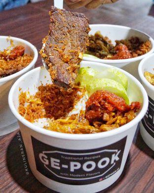 Foto 1 - Makanan di Ge-Pook oleh @kulineran_aja