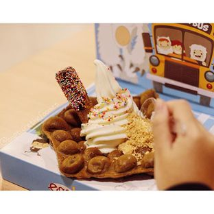 Foto 1 - Makanan(Eggloo Dessert) di Eggo Waffle oleh Erika Karmelia