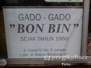 Foto review Gado - Gado Bon Bin oleh Tirta Lie 7