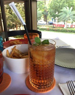 Foto 2 - Makanan(ice mint tea) di Abraco Bistro & Bar oleh Elli  Soetomo