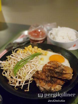 Foto 4 - Makanan(Teriyaki Pepper Chicken) di Pepper Lunch Express oleh JC Wen