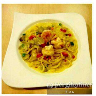Foto 1 - Makanan(Bakmi Udang Keju) di Serba Food oleh Tirta Lie