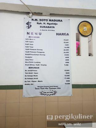 Foto 5 - Menu di Soto Madura Bpk H. Ngatidjo oleh William Wilz