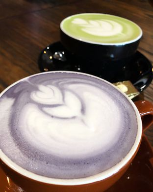 Foto 2 - Makanan(Taro dan Green Tea Latte) di Copas (Coffee Passion) oleh Claudia @grownnotborn.id