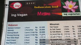 Foto review Ing Vegetarian oleh Ivan Olianto 7