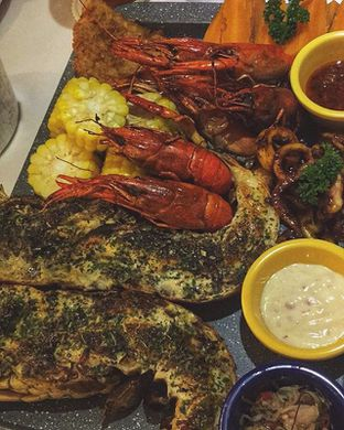 Foto - Makanan di LOVEster Shack oleh Fatsopotato