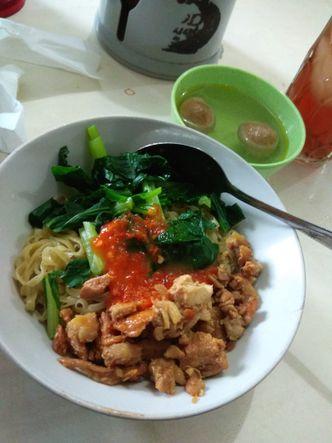 Foto Makanan di Bakmi Villa