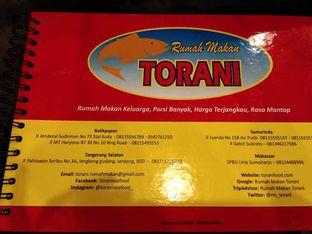 Foto 1 - Menu di Rumah Makan Torani oleh Meri @kamuskenyang
