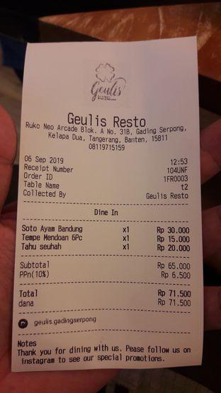 Foto 4 - Menu di Geulis The Authentic Bandung Restaurant oleh Aditya Pratama