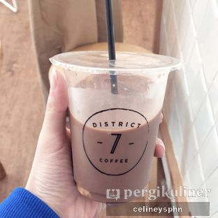 Foto - Makanan(Chocolate ice) di District 7 Coffee oleh Celine Yosephine --- IG : @stupidlyfull