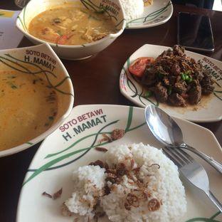 Foto - Makanan(oseng daging ) di Soto Betawi H. Mamat oleh @Itsjusterr