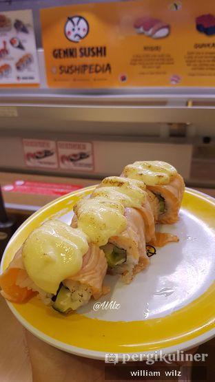 Foto 1 - Makanan di Genki Sushi oleh William Wilz