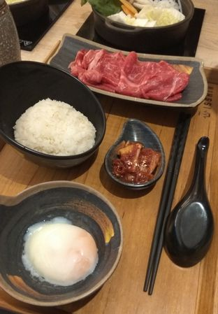 Foto 3 - Makanan(Shin Wagyu Rousou Set (IDR 134k) ) di Isshin oleh Renodaneswara @caesarinodswr