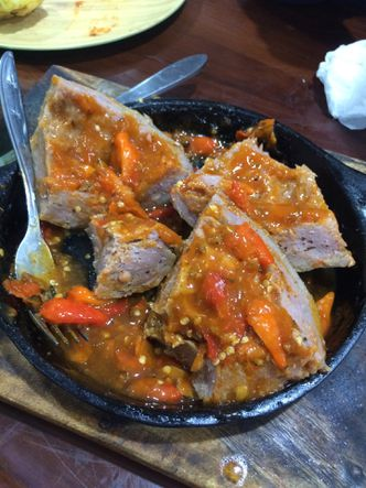 Bakso Lava Blenger Review Irine Di Restoran Bakso Rusuk Joss