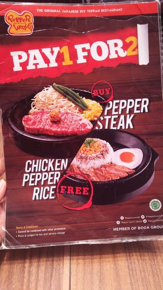 Foto Menu di Pepper Lunch