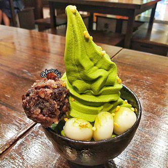 Foto Makanan di Amausaan Uji Matcha