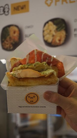 Foto 3 - Makanan di Omo Egg Sandwich & Korean Snacks oleh Theodora