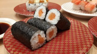 Foto Makanan di Genki Sushi