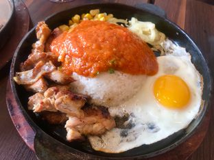 Foto 4 - Makanan(Chicken Grill Kepiting Saus Padang) di Ow My Plate oleh Levina JV (IG : levina_eat )