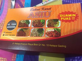 Foto review Bakmi Karet Asiu oleh @eatfoodtravel  2