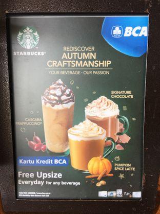 Foto 1 - Menu di Starbucks Coffee oleh Mariane  Felicia
