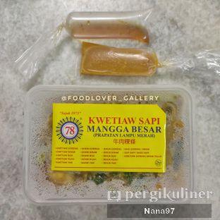 Foto review Kwetiaw Sapi Mangga Besar 78 oleh Nana (IG: @foodlover_gallery)  2