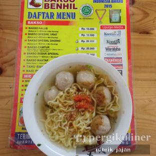 Foto 1 - Makanan di Bakso Benhil oleh ellien @rubrik_jajan
