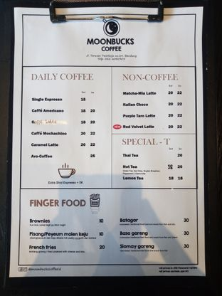 Foto 5 - Menu di Moonbucks Coffee oleh Chris Chan