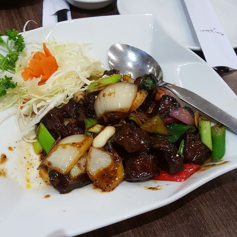 Affordable chinese food review teddyzelig di restoran for Aja asian cuisine menu