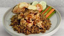 Kopi Brulle, menu rekomendasi di Eightfully Milk & Coffee Bar