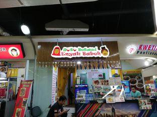 Foto review Soto Betawi Enyak Babeh oleh @duorakuss  1