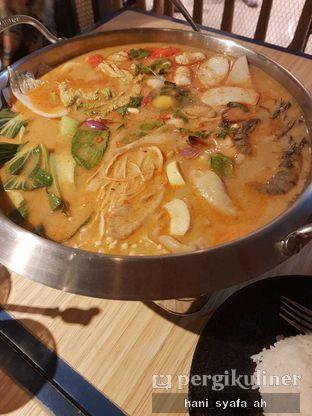 Foto 1 - Makanan(Tom Yum Suki Hot Pot) di Thai Street oleh Hani Syafa'ah