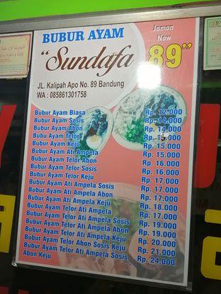 Foto 2 - Menu di Bubur Ayam Sundafa 89 oleh ariyanti riri